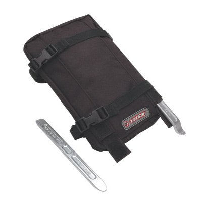 Tusk Fender Tube Pack with Tire Irons Black by Tusk