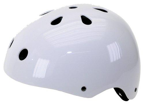 Ventura Freestyle-Inline-BMX-Outdoor Helm, weiß, L (58-61 cm),