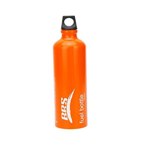 SUNRIS Botella de Aceite de Gasolina líquida de 0,53 L y 0,75 L, para Estufa de Gas, Aceite, contenedor de Aceite para Camping al Aire Libre