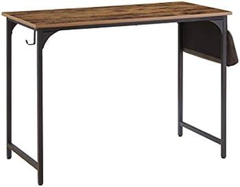 KOZYSPHERE 40 Inch Computer Desk with Metal Frame & Storage Bag
