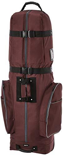 Amazon Basics - Bolsa de transporte para golf con laterales flexibles, color Granate