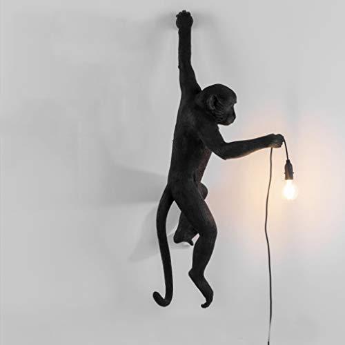 HongTeng Harz Lampe AFFE Lampe-Outdoor Wohnzimmer Esszimmer Schlafzimmer Kronleuchter Tischlampe Wandlampe 46X27.5X54 cm (Color : B)