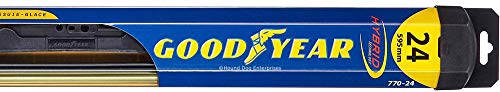 Hybrid - Driver Windshield Wiper Bundle - 2 Items: Driver Blade & Reminder Sticker fits 2014-2015 Mercedes-Benz E63 AMG S (4Matic)
