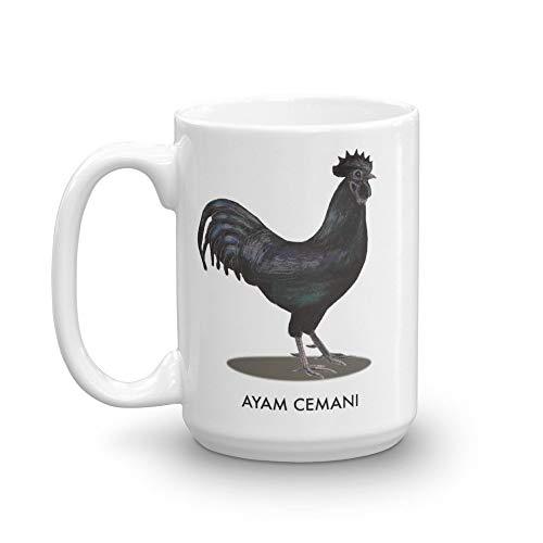 Coffee Mug Ayam Cemani