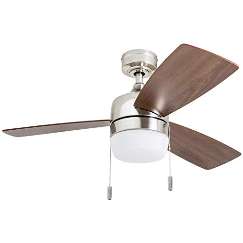 Honeywell 50616-01 Barcadero, 44, ventilador de techo, níquel cepillado
