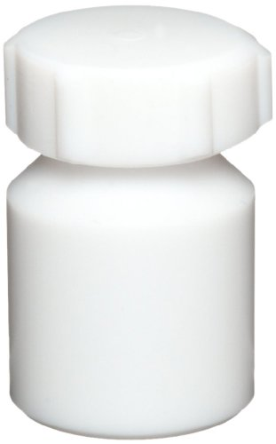 Dynalon 314814 5ml, PTFE Heavy Wall, Wide-Mouth, Air-Tight Bottle With Screw Cap
