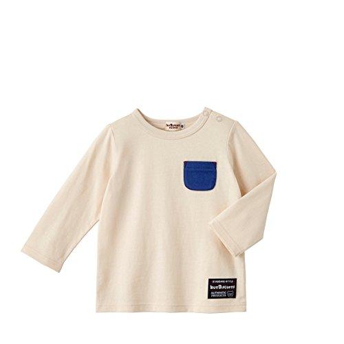 ミキハウス ホットビスケッツ (MIKIHOUSE HOT BISCUITS) 長袖Tシャツ 73-5201-611 100cm アイボリ