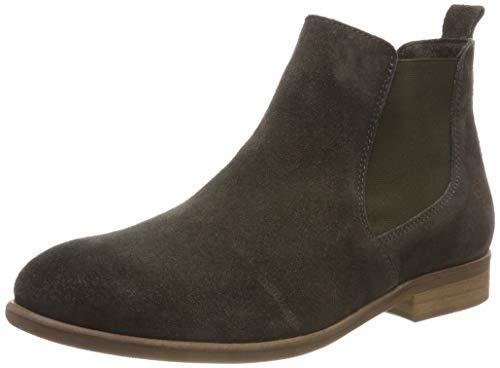 Apple of Eden Matilde, Chelsea Boots Femme, Vert (Khaki 49), 39 EU