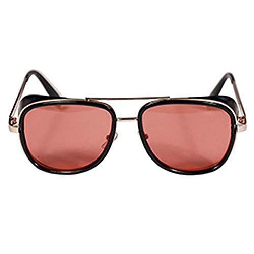 Reiko Gafas de sol Steampunk Gafas de sol unisex con gafas de sol vintage C9