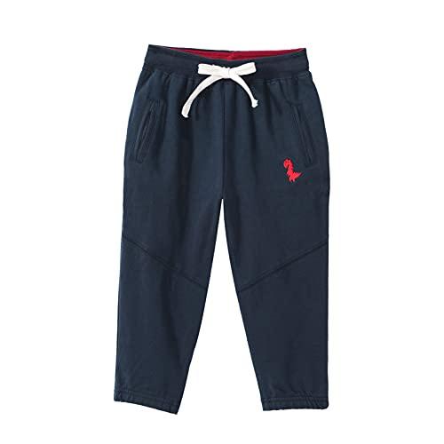 inhzoy Kids Boys Girls Athletic Sweatpants Drawstring Jogger Pants Sports Casual Trousers Activewear Royal Blue 7-8