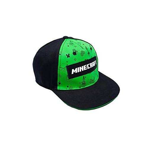 Vanilla Underground Minecraft Creeper all Over Print Boys/Youth Snapback cap