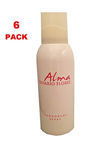 ALMA Rosario Flores Deo Spray 150ML. Pack de 6