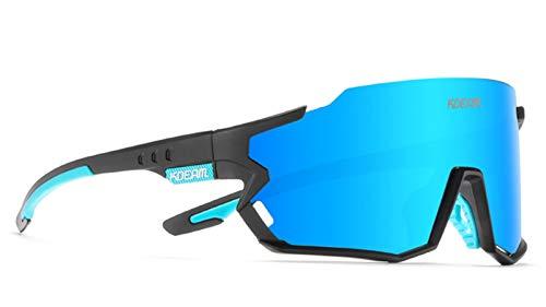 Gafas de Sol Deportivas polarizadas, Copas de Ciclismo de protección UV400 para Hombres y Mujeres, Gafas de Gafas al Aire Libre para Correr Pesca de Escalada. C