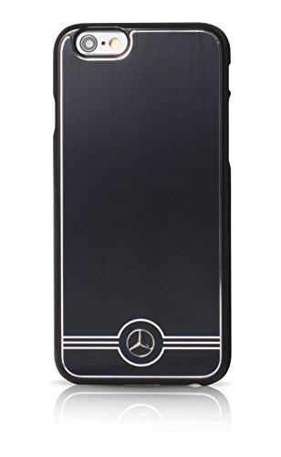 Mercedes Pure Line Custodia Rigida in Alluminio per iPhone 6/6S–Nero