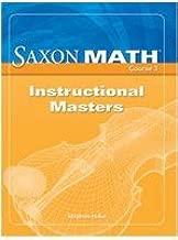 Saxon Math Course 3: Instructional Masters