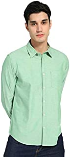 DJ&C By fbb Men's Slim fit Casual Shirt