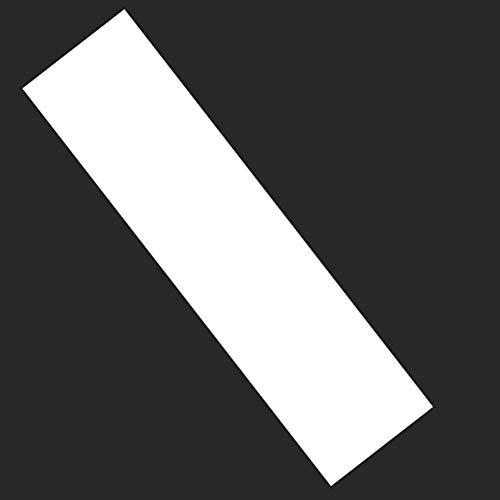 LYXMY Papel Lija Longboard Accesorios Skate Pegatina Adhesivo Doble Cker PVC Multifunción Práctico Grueso Cinta de Agarre Scooter Transparente (84x24cm) - como Imagen Mostrar, 84x24cm