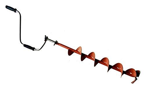 I・STYLE ワカサギ わかさぎ アイスドリル R/5 曲刃 CTI-25911【穴径15cm】【全長1.75m】