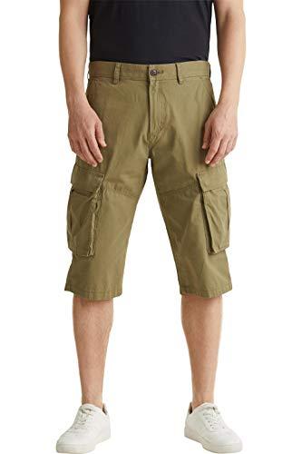 ESPRIT Herren 040EE2C302 Shorts, 360/OLIVE, 32