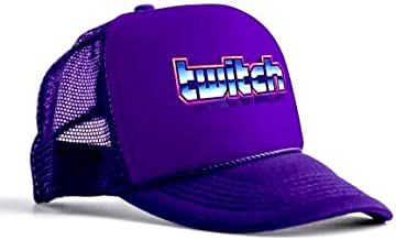 Twitch x Signalnoise Logo Snapback Hat Purple