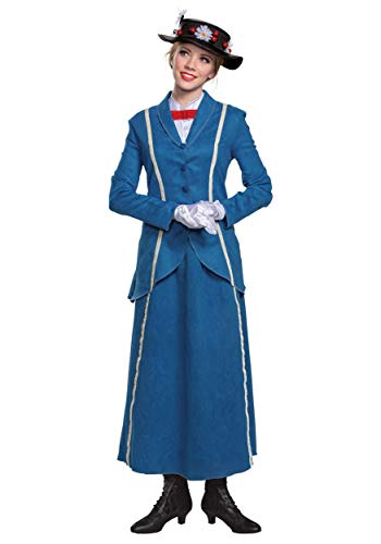 Adult Mary Poppins Halloween Costume Mary Poppins Costumes for Women Medium