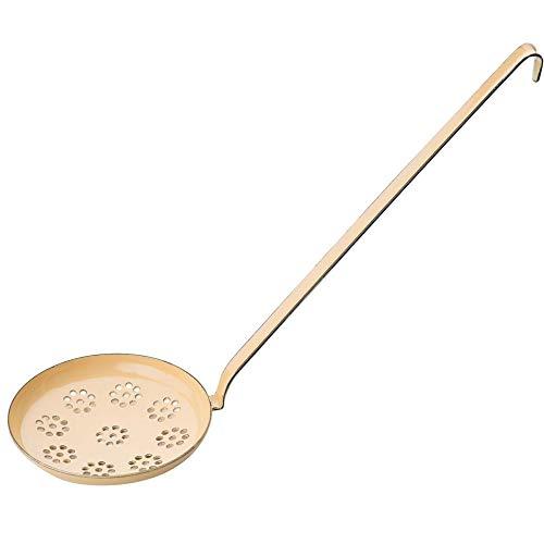 Riess, 0542-006, Backschaufel 12, CLASSIC - BUNT/PASTELL, Farbe Goldgelb, Durchmesser 12 cm, Höhe 9,3 cm, Emaille