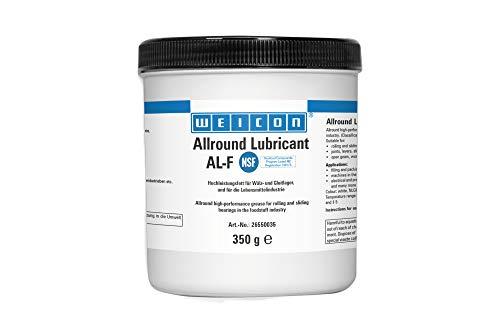 WEICON AL-F Grasso ad alte prestazioni, universale, 350 g, lubrificante per l'industria alimentare, approvato NSF
