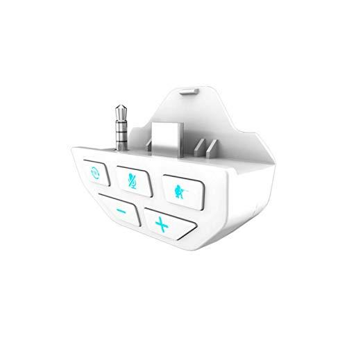 JAMAN Sound Enhancer für Xbox One, Stereo-Headset-Audioadapter für Xbox One, Headset-Audio-Controller, Plug & Play