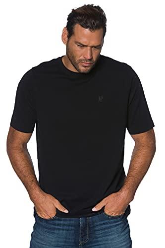 JP 1880 Homme Grandes Tailles Tee Shirt col Rond en Coton Noir 6XL 702558 10-6XL