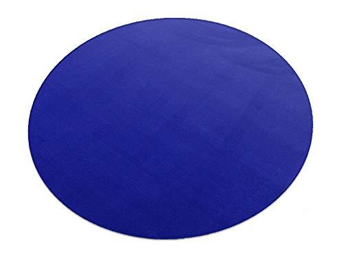 HEVO Romeo blau Teppich   Kinderteppich   Spielteppich 200 cm Ø Rund