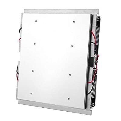 Refrigeration Module, 12V 240W 4-Chip Thermoelectric Semiconductor Cooler Refrigeration Cooling Panel Module for Flat Product Cooling, Pet Bed Cooling, etc