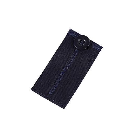 QA/_ Women Men Button Waistband Extension Strap Elastic Pants Waist Extenders U