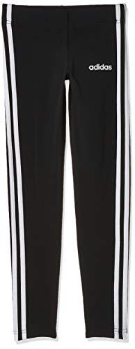 adidas Mädchen Tights Essentials 3-Streifen, Black/White, 140, DV0367
