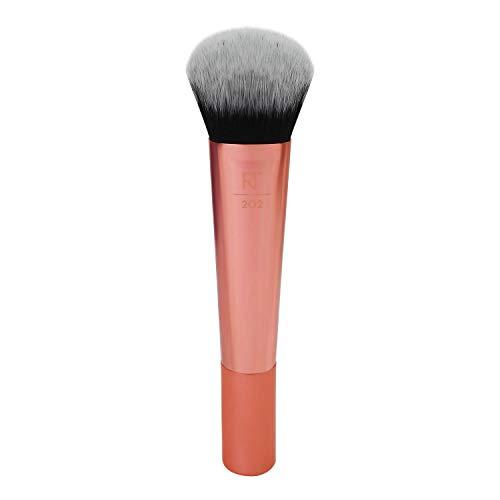 Real Techniques Instapop Gesichtspinsel für Make-up, für Foundation oder Puder (Verpackung und Grifffarbe können abweichen)