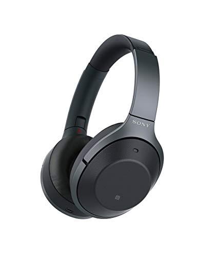 Sony WH1000XM2 Premium Noise Cancelling Wireless Headphones ? Black (WH1000XM2/B) (Renewed)