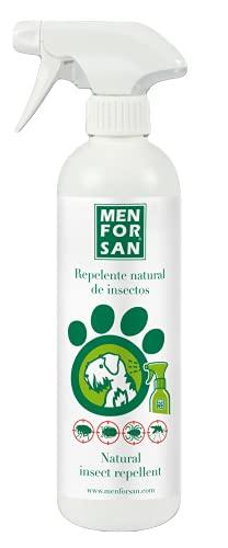 MENFORSAN Repelente Natural de Insectos con citronela Perros - 500 ml ⭐