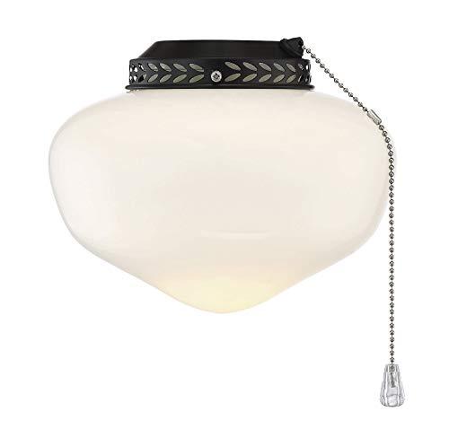 """Savoy House FLGC-1110-13 Schoolhouse Indoor/Outdoor Light kit Fan Light Kit (9"""" W x 8""""H)"""