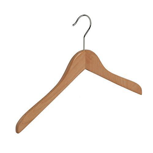 10 x Grucce in legno per camicia, 38 cm - IL GIGANTE DEL PORTABITO