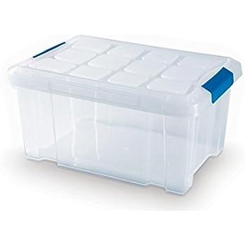 Plastic Forte - Caja de ordenación n 10 5 litros: Amazon.es: Hogar