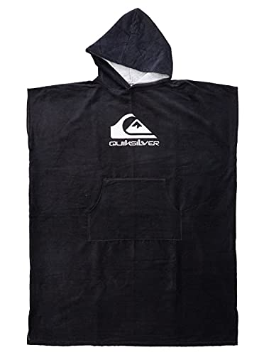 Quiksilver™ - Poncho-Toalla para Surf - Hombre - One Size - Negro