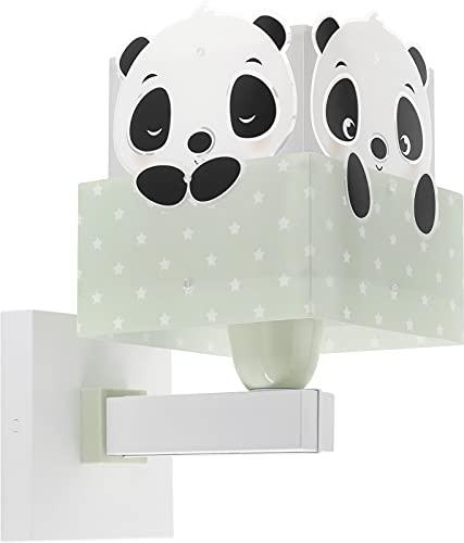 Dalber Aplique Infantil De Pared Panda Verde