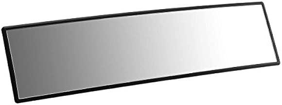 ELUTO Wide Angle Rear View Mirror Car Rear View Mirror Universal Convex Curve Rear View Mirror Clip on Original Mirror 12'' (305mm) for Cars SUV Trucks