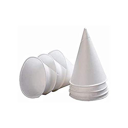 We Can Source It Ltd – 4oz Pared Individual Blanco Papel Cono...