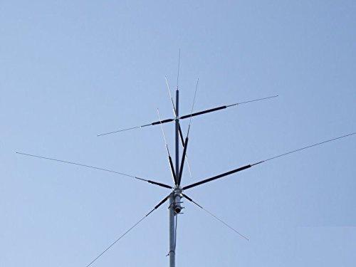 Harvest Wireless Hvu-8 Eight Band Base Station Antenna(80/40/20/15/10/6/2M/70Cm)