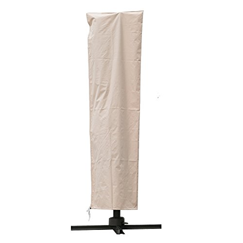 C-Hopetree Storage Cover for 7-11ft Outdoor Patio Umbrella - Beige