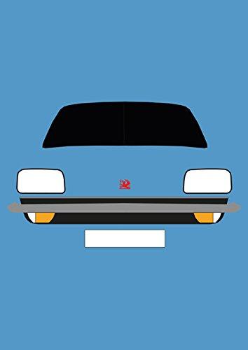 Vauxhall Chevette - Retro Motor Company Greeting Card