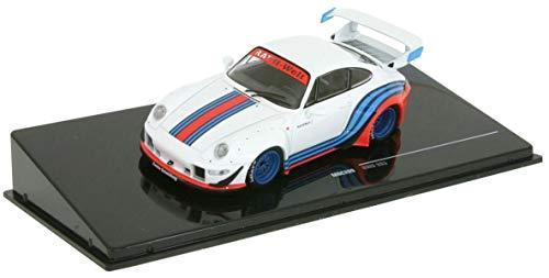 Ixo-Models IXOMOC209 Porsche 911 RWB (993), Weiss/Dekor, RAUH-Welt, 1:43, Fertigmodell