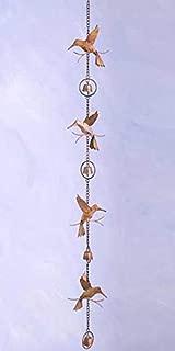 Ancient Graffiti Hummingbirds Decorative Hanging Chain
