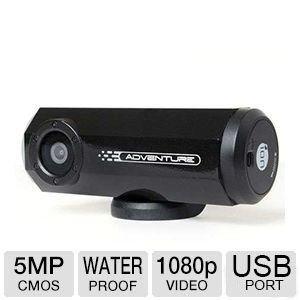 iON Adventure 8MP 1080p Action Video Camera with Wi-Fi Capable and Built-In GPS Receiver from iON America