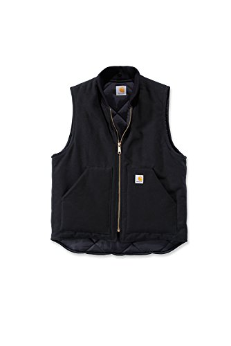 Carhartt V01 Duck Vest Arctic Quilt Lined - Weste, Black, L